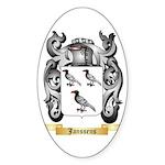 Janssens Sticker (Oval 50 pk)