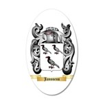 Janssens 20x12 Oval Wall Decal