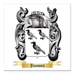 Janssen Square Car Magnet 3