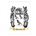 Janssen Postcards (Package of 8)