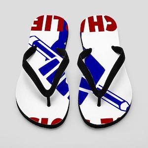 JE SUIS CHARLIE Flip Flops