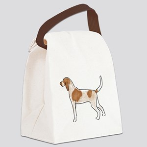 american english coonhound Canvas Lunch Bag