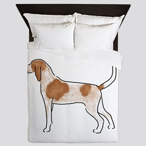 american english coonhound Queen Duvet