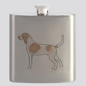 american english coonhound Flask