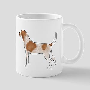american english coonhound Mugs