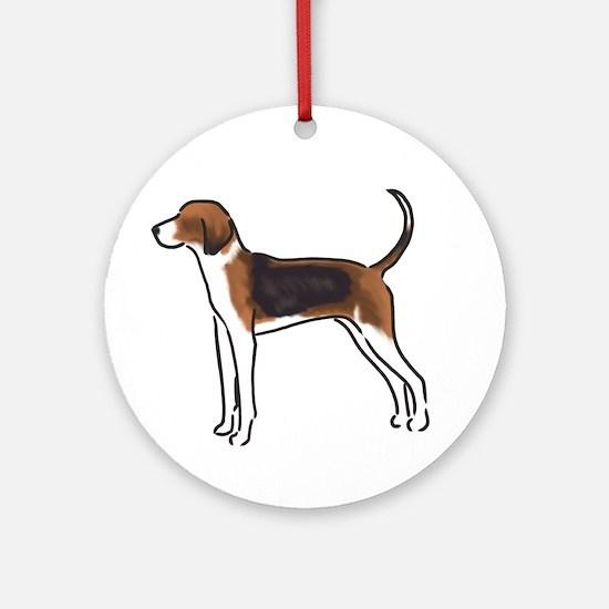 american foxhound Ornament (Round)