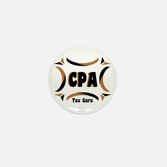 CPA Tax Guru Mini Button