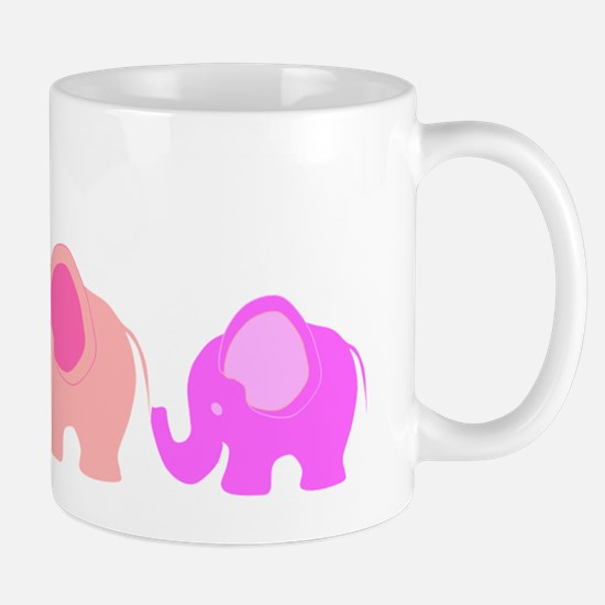 Pink Elephants Mugs