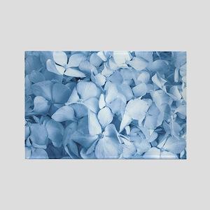 Hydrangea Flower Rectangle Magnet