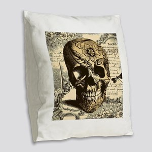 Burlap Throw Pillow