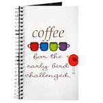 Coffee Early Bird Funny Journal