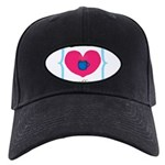 Pink Turquoise Coffee Love Baseball Hat