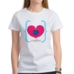 Pink Turquoise Coffee Love T-Shirt