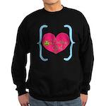 Lucky Girl Heart Shamrock Sweatshirt