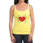 Lucky Girl Heart Shamrock Tank Top