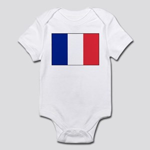 France Flag Infant Bodysuit
