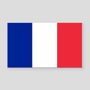 France Flag Rectangle Car Magnet