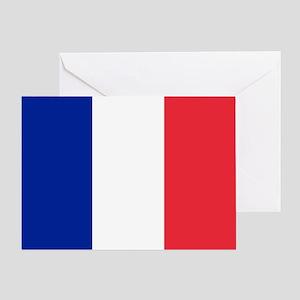 France Flag Greeting Card
