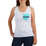 True Blue Arkansas LIBERAL Women's Tank Top