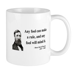 Henry David Thoreau 11 Mug