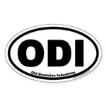 Old Dominion Industries ODI Oval Sticker