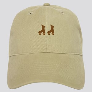 Brown Roller Skates Cap