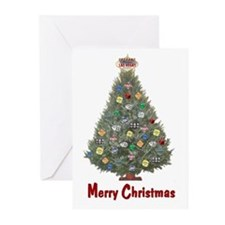 Las Vegas Merry Christmas Cards Pk of 10