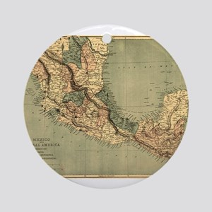 Mexico Central America Ornament (Round)