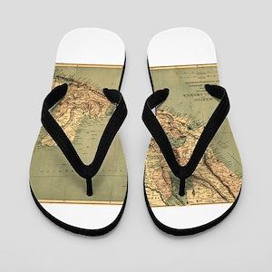 Mexico Central America Flip Flops