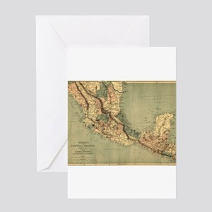 Mexico Central America Greeting Cards