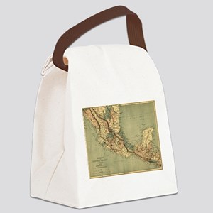 Mexico Central America Canvas Lunch Bag