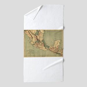 Mexico Central America Beach Towel