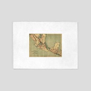 Mexico Central America 5'x7'Area Rug