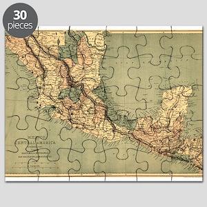 Mexico Central America Puzzle