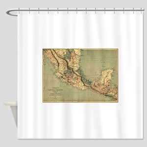 Mexico Central America Shower Curtain