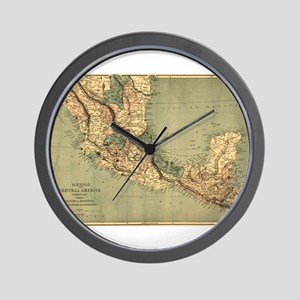 Mexico Central America Wall Clock