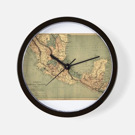 Mexico Central America Wall Clock