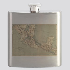 Mexico Central America Flask