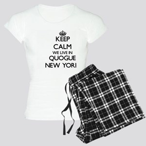 Keep calm we live in Quogue Women's Light Pajamas