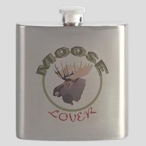 Moose Lover Flask