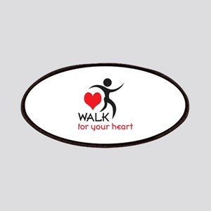 WALK FOR YOUR HEART Patches