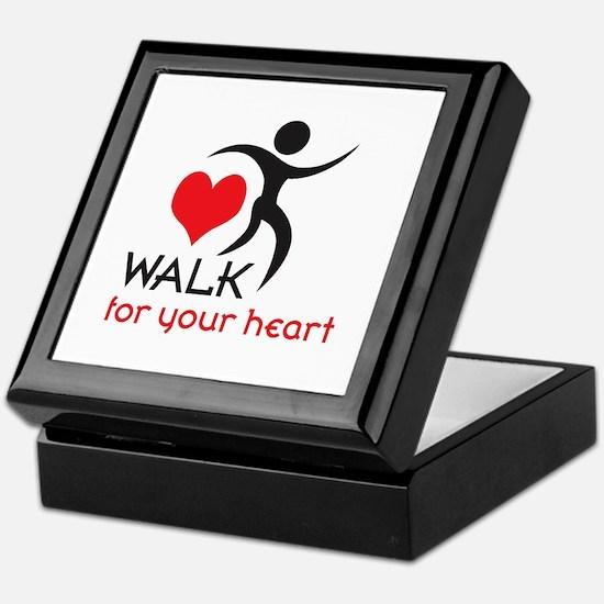 WALK FOR YOUR HEART Keepsake Box