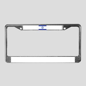 Israel flag License Plate Frame