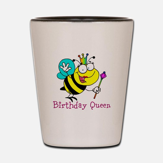 Birthday Queen Shot Glass