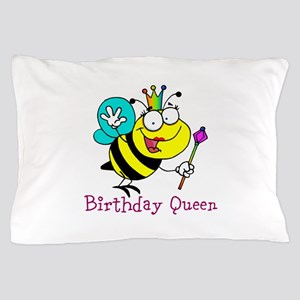 Birthday Queen Pillow Case