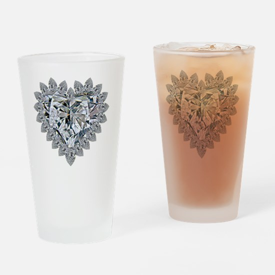 prickly heart Drinking Glass