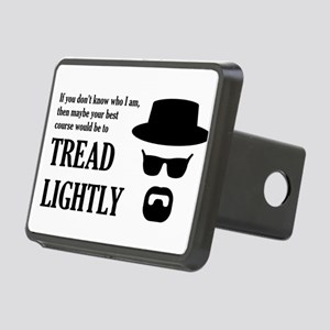 BREAKINGBAD TREAD LIGHTLY Rectangular Hitch Cover