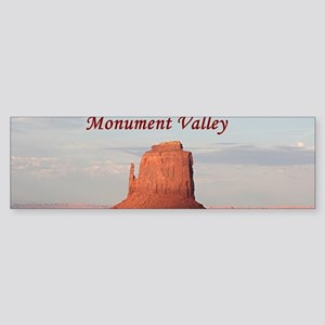 Monument Valley, Mitten, Utah, USA Bumper Sticker