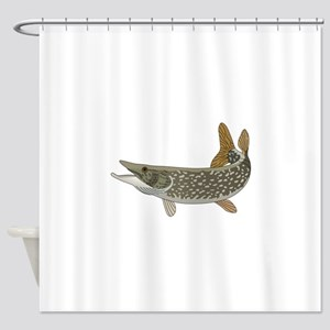 NORTHERN PIKE Shower Curtain