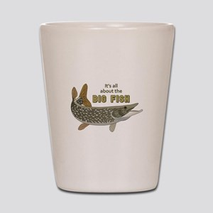 It's All About The Big Fish Shot Glass